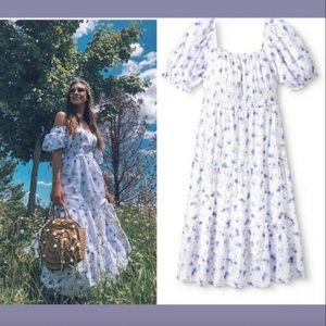 LoveShackFancy Gemma Midi Dress